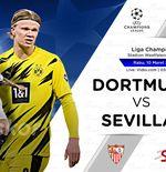 Link Live Streaming Borussia Dortmund vs Sevilla di Liga Champions