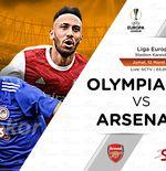 Link Live Streaming Olympiakos vs Arsenal di Liga Europa