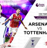 Link Live  Streaming Arsenal vs Tottenham Hotspur di Liga Inggris