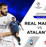 Link Live Streaming Real Madrid vs Atalanta di Liga Champions