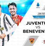 Link Live Streaming Juventus vs Benevento di Liga Italia