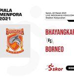 Hasil Bhayangkara Solo FC vs Borneo FC: Gol Cepat Buat The Guardian Jadi Pemenang Pertama Piala Menpora