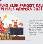 Piala Menpora 2021: Ikuti Dukung Dari Rumah Bareng Skor Indonesia, Ada Hadiah Menarik!