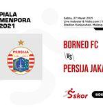 Hasil Borneo FC vs Persija: Macan Kemayoran Kirim Pesut Etam Pulang