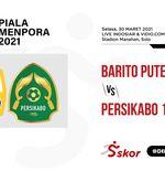 Link Live Streaming Piala Menpora 2021: Barito Putera vs Persikabo