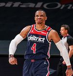 Bikin Monster Triple-Double, Russell Westbrook Ukir Rekor Impresif