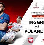Prediksi Inggris vs Polandia: Robert Lewandowksi Absen, Tim Tiga Singa Punya Kans Menang Lagi