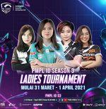 Klasemen PMPL Ladies Tournament Season 3, Genesis Dogma Bersaing dengan Belletron