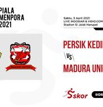 Link Live Streaming Piala Menpora 2021: Persik vs Madura United