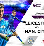 Link Live Streaming Leicester City vs Manchester City