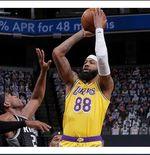 Hasil NBA 2020-2021, Sabtu (3/4/2021): LA Lakers Menang Telak atas Sacramento Kings