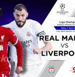 Link Live Streaming Real Madrid vs Liverpool di Liga Champions