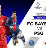 Link Live Streaming Bayern Munchen vs PSG di Liga Champions