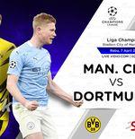 Prediksi Manchester City vs Borussia Dortmund: The Citizens Bawa Modal Meyakinkan