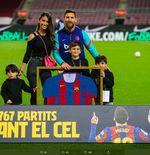 VIDEO: Penghargaan untuk Lionel Messi setelah Pecahkan Rekor Penampilan di Barcelona