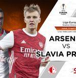 Link Live Streaming Liga Europa:Arsenal vs Slavia Praha
