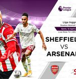 Link Live Streaming Sheffield United vs Arsenal di Liga Inggris