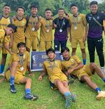 Dua Tim Akademi Persib Petik Pelajaran di Development Footbal League (DFL) U-18