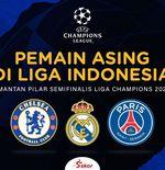 5 Pemain Asing Liga Indonesia yang Pernah Bela 3 Semifinalis Liga Champions 2020-2021