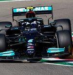 Hasil FP1 F1 GP Emilia Romagna 2021: Duo Mercedes Berkuasa, Max Verstappen Menempel