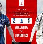 Link Live Streaming Liga Italia: Atalanta vs Juventus