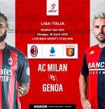 Link Live Streaming AC Milan vs Genoa di Liga Italia
