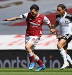 Hasil Arsenal vs Fulham: Gol Telat Nketiah Selamatkan the Gunners