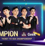 Geek Fam ID Bungkus Gelar Juara PMPL Indonesia Season 3