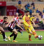 VIDEO: Aksi Lionel Messi di Final Copa del Rey 2020-2021