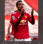 Cemerlang lawan Burnley, Mason Greenwood Catat Sejarah di Manchester United