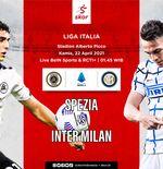 Link Live Streaming Spezia vs Inter Milan di Liga Italia