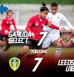 14 Gol Tercipta, Garuda Select III Tahan Imbang Leeds United U-18