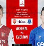 Link Live Streaming Liga Inggris: Arsenal vs Everton