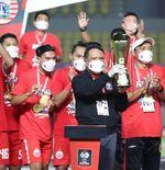 Persija Juara Piala Menpora 2021, Borneo FC dan Persik Kediri Bereaksi