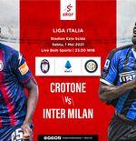Link Live Streaming Crotone vs Inter Milan di Liga Italia