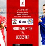 Link Live Streaming Southampton vs Leicester City di Liga Inggris