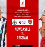 Link Live Streaming Newcastle United vs Arsenal di Liga Inggris