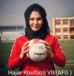 CERITA RAMADAN: Hazar Abufazl, Pelopor Sepak Bola Wanita di Afghanistan