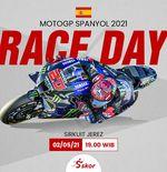 Link Live Streaming MotoGP Spanyol 2021, Minggu (2/5/2021)