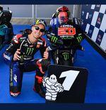MotoGP 2021: Fabio Quartararo Gagal Menang, Rekor Valentino Rossi Masih ''Aman''