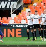 Valencia vs Barcelona: Catatan Positif dan Negatif Lionel Messi