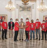 Sambangi Balai Kota, Persija Rayakan Juara Piala Menpora Bareng Anies Baswedan