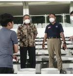 Sambangi Latihan Timnas Indonesia, Menpora Beri Pesan untuk Shin Tae-yong