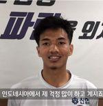 Jadi Bagian Cheongju FC, Muhammad Iqbal Rayakan Hari Orang Tua di Korea Selatan