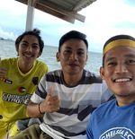 Bek PS Sleman Tekuni Hobi di Laut Seusai Jalani Latihan Mandiri di Rumahnya