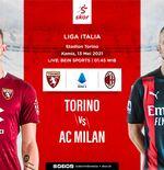 Link Live Streaming Torino vs AC Milan di Liga Italia