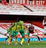 Hasil Arsenal vs West Brom: The Gunners Menang, Posisi di Klasemen Liga Inggris Tak Berubah