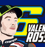 Valentino Rossi Ingin Hapus Kenangan Buruk di MotoGP Prancis