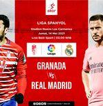 Link Live Streaming Granada vs Real Madrid di Liga Spanyol