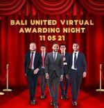 Wawan Hendrawan dan Ilija Spasojevic Sabet Dua Penghargaan di Bali United Virtual Awarding Night